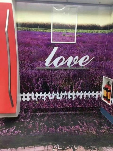 phong cách tình yêu ở thành tàu điện ngầm tại TQ