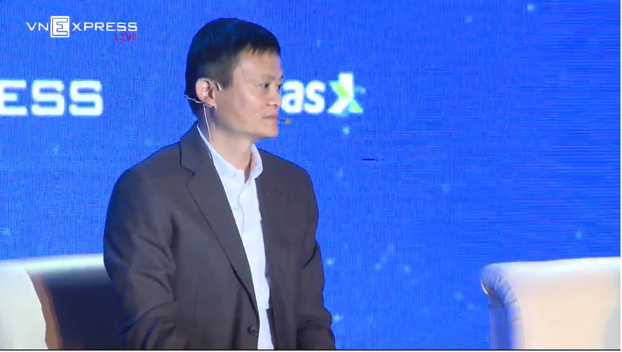 jack Ma tại VEPF 2017