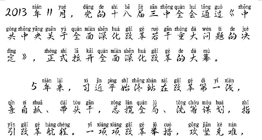 font tieng trung pinyin thu phap